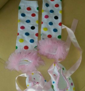 Гетры, пинетки, тапочки, носочки