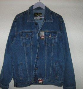 Джинсовая куртка XL
