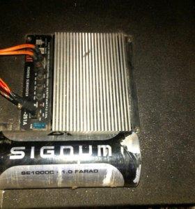 Конденсатор-накопитель SIGNUM для сабвуфера