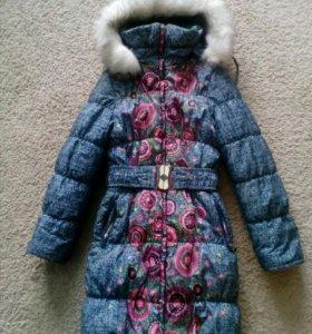 Пальто для девочки,зима