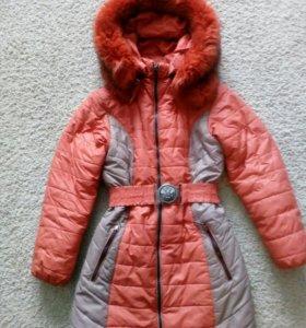 Пальто для девочки, зима