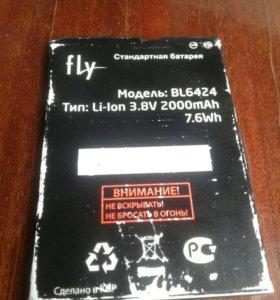 Батарея на flay