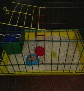 Клетка для крыс, морских свинок,маленьких кроликов