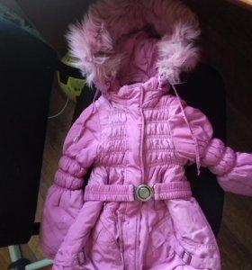 Продам куртку для девочки осень-зима 3 в 1