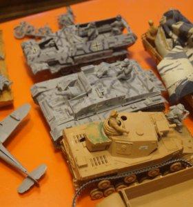 модели немецкой техники