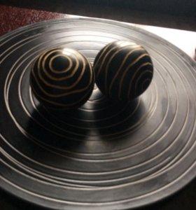 Декоративная тарелка.Д 48см.