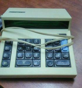 Калькулятор СССР Электрически Рабочий