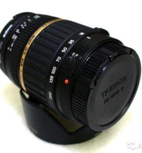 Объектив tamron AF 18-200 mm f 3.5-6.3 для canon
