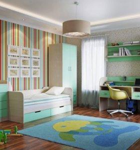 Детская Забава 001. Мебель для детской