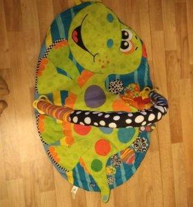 Развивающий коврик для малыша.. Динозаврик..