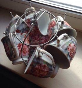 Набор чайный Чашки и Блюдца