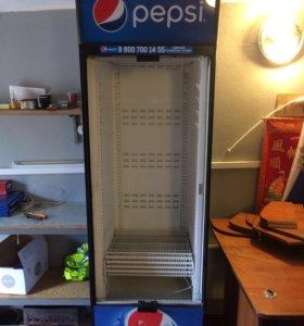 Холодильник ветрена Pepsi со шторкой