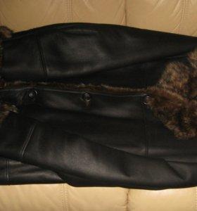 Куртка мужская кожа и мех натуральные (таскана)