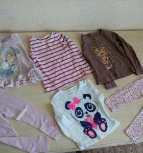 Вещи на девочку от 3-4,5 лет