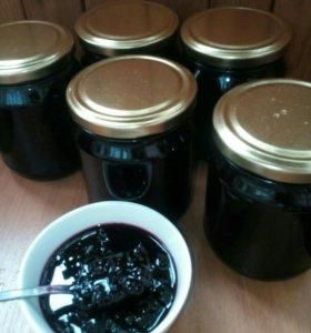 Варенье из чёрной смородины,500мл