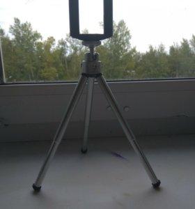 Штатив для телефона и небольших фотоаппаратов