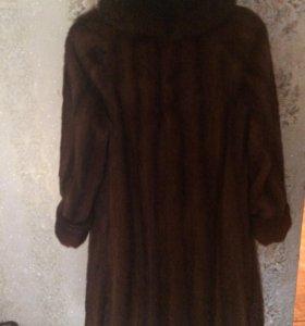 Шуба-Норковая 48-50 размер