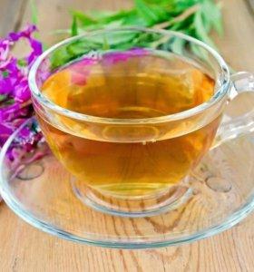Иван-чай с цветочками