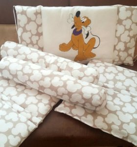 Бортики - подушки