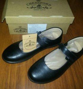 Туфли школьные (новые)