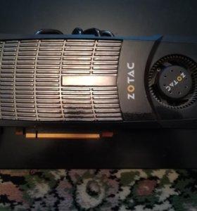 Видеокарта Zotac GTX570 synergy edition