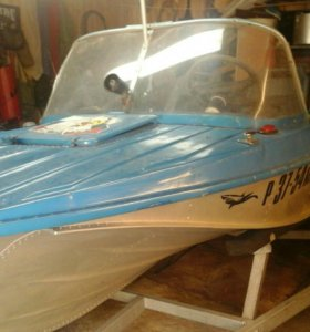 Лодка моторная казанка с прицепом