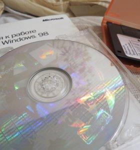 Windows 98 Лицензия.
