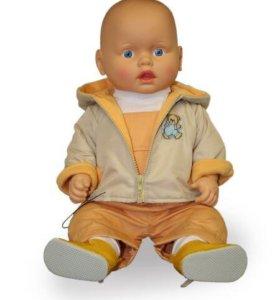 """Кукла-пупс """"Владик"""" (53 см) новый"""