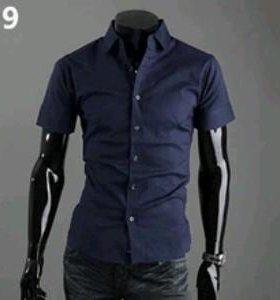 Рубашка приталенная р-р XS/S