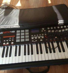 Миди клавиатура Akai mpk49