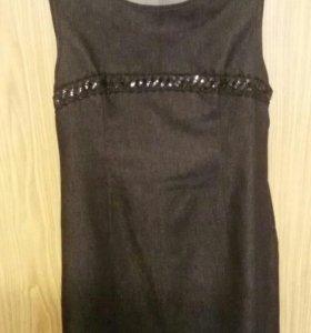 Платье, джинсовый сарафан