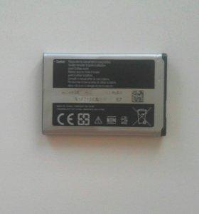 Продам рабочую батарею Samsung на сотовый телефон