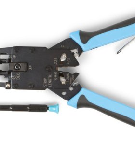 Инструмент обжимной для RJ45 , RJ12, RJ11