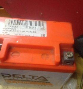Аккумулятор delta 12v-5Ah