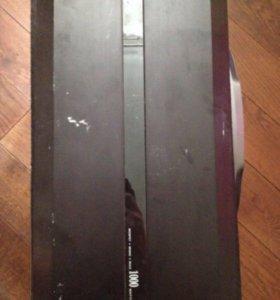 Сабвуфер Sony xplod 1300 и усилитель kicx 1000 1