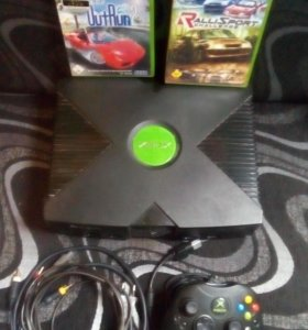 Приставка Xbox original(первый xbox)