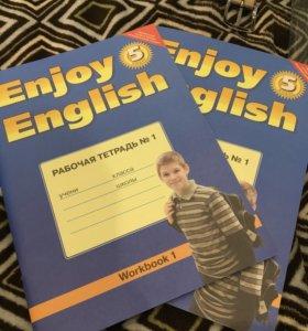 Рабочая тетрадь по английскому 5 класс