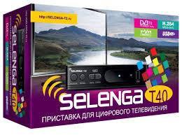 Цифровая тв приставка Selenga Т40
