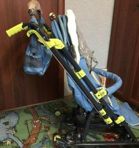 Новые Санки-коляска НД7-3