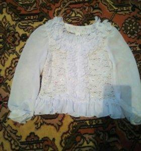 Блуза на девочку