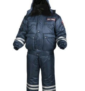 Зимний костюм ДПС Полиция