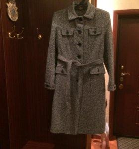 Пальто утеплённое демисезонное