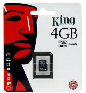 Карты памяти MicroSD в наличии новые