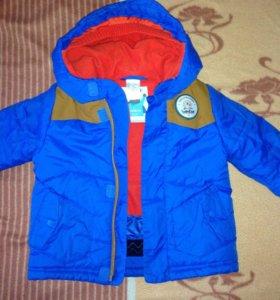 Куртка тёплая декатлон