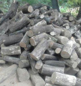Дрова дубовые колотые в мешках не дорого