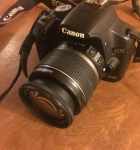 Зеркальный фотоаппарат Canon 500d