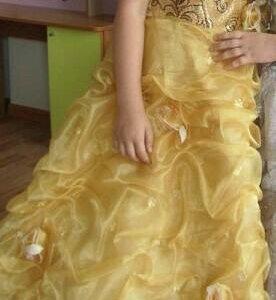 Праздничное платье с карсетом и подъюбником.