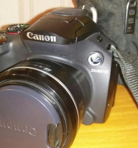 Фотоаппарат Canon SX 40 HS и сумка к нему