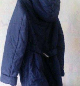 Куртка для беременной со ставками для животика
