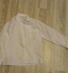 Белая рубашка 110-116